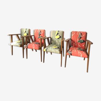 Salon fauteuils bridge 1960