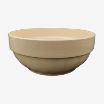 Salad bowl earthenware Digoin & Darreguemines France