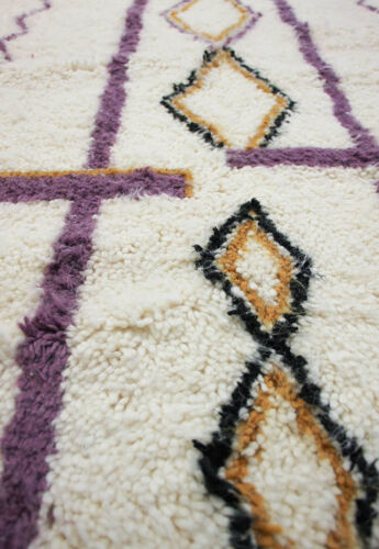 Tapis azilal violet 210 x 140cm