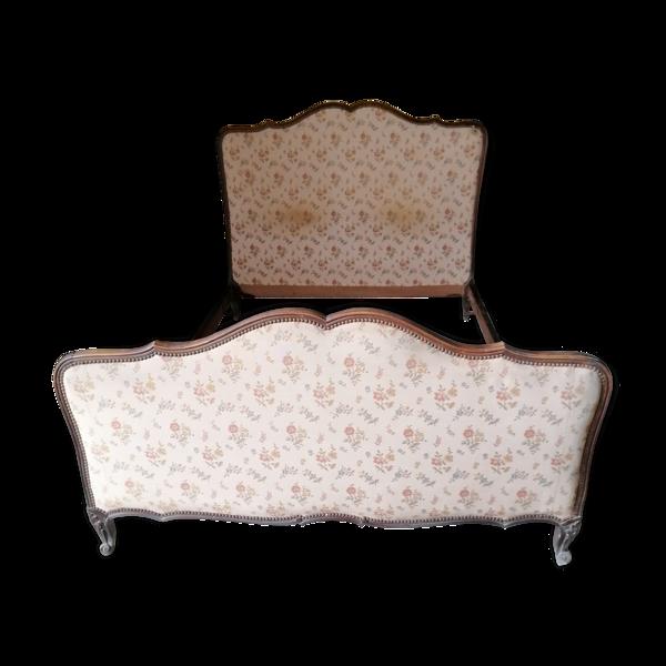 Ancien lit matelasé