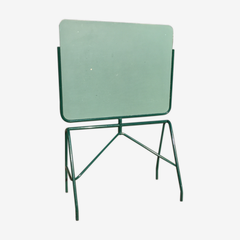 Tableau d'école années 50 pivotant