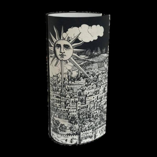 Lampe de table Jerusalem par Fornasetti