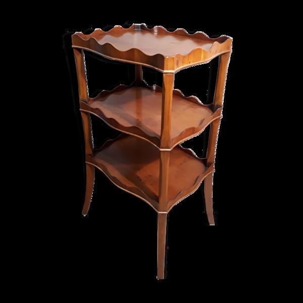 Étagère en bois art nouveau