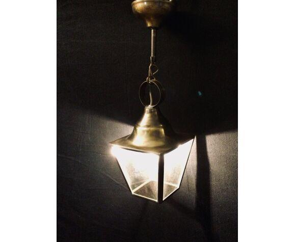 Lanterne laiton une lumière