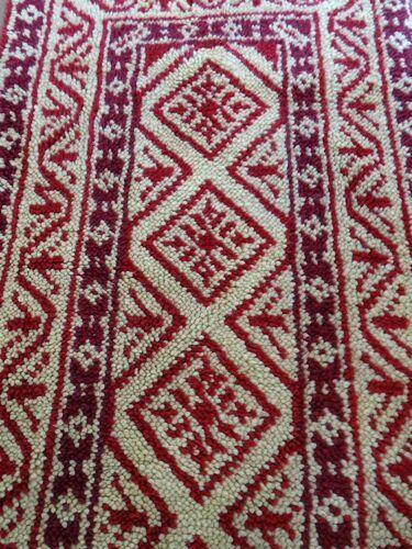 Tapis en laine 138x70cm