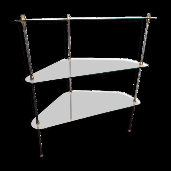 Vitrine étagères  tripode Design Henry Lyon 1950