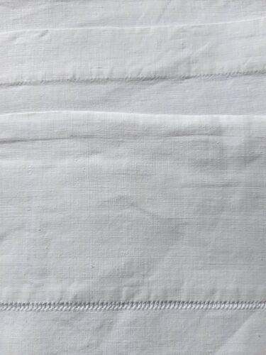 Drap de fil du 19ème monogrammé ML 2m60 large