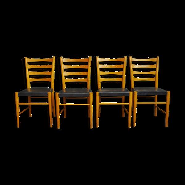 4 chaises par Gemla Fabrikers