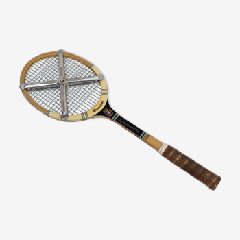 Raquette de tennis vintage signé