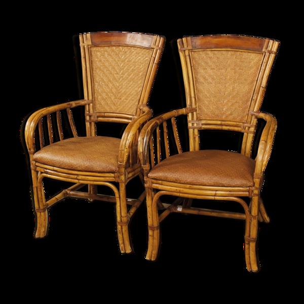 Paire de fauteuils estampillés Kalma Ramon Castellano
