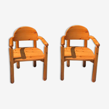 Paire de fauteuils Rainer Daumiller