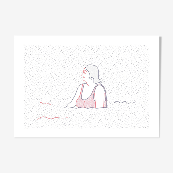 Illustration Naiade No. 5/8