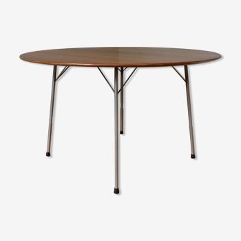 Arne Jacobsen dining table 3600 teak by Fritz Hansen 1950