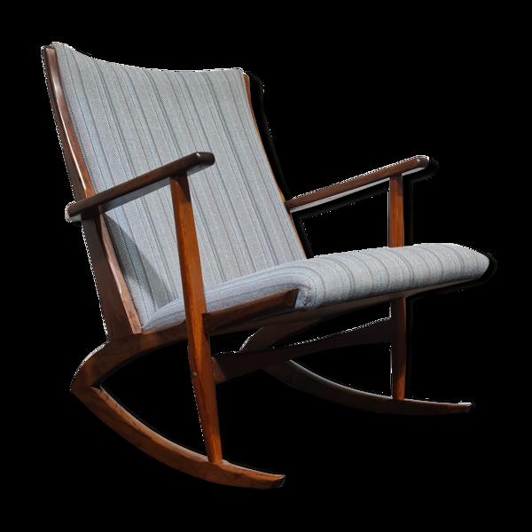 Rocking chair de conception danoise par Holger Georg Jensen pour Kubus