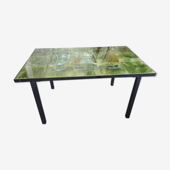 Table basse en céramique Vallauris