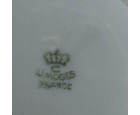 Verseuse en porcelaine de Limoges