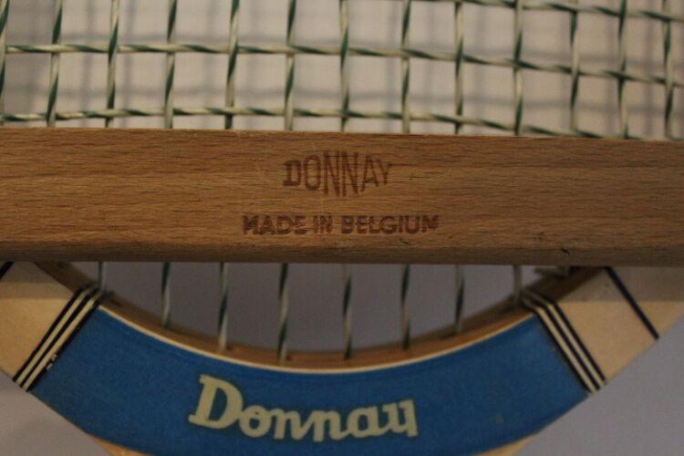Raquette de tennis vintage Donnay