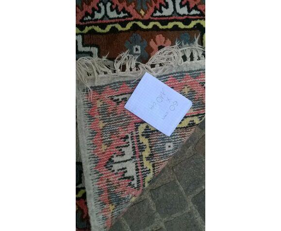 Paire de tapis artisanal 60x110cm