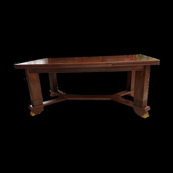 Table à manger chêne Art déco 1940