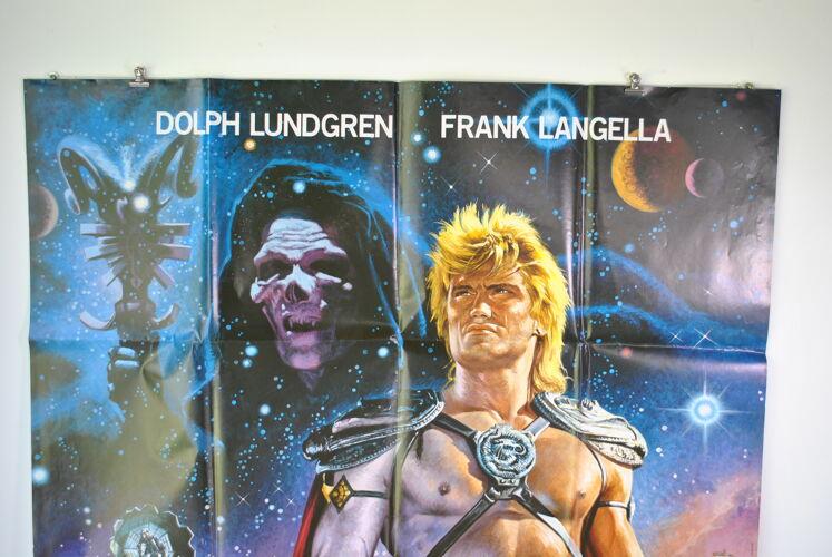 Affiche de cinéma Les maitres de l'univers 1987