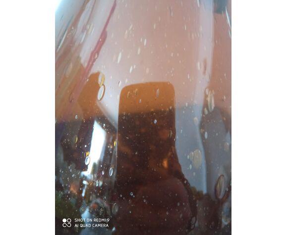 Carafe en verre bulle verrerie de Biot