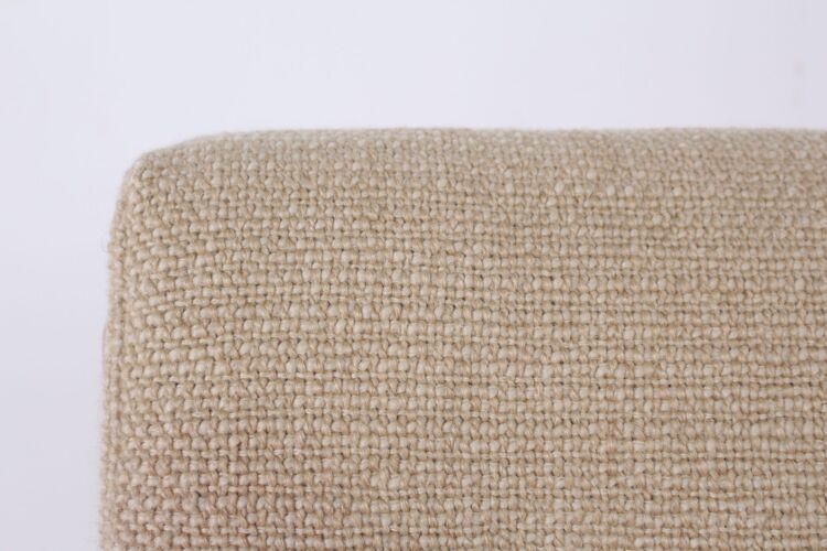 Banquette scandinave tissus laine claire