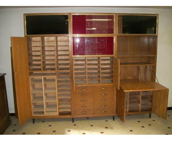 Bibliothèque secrétaire modulable
