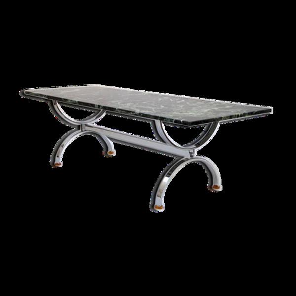 Table basse en marbre des années 60