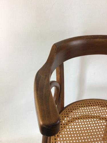 Fauteuil en bois courbé Fischel