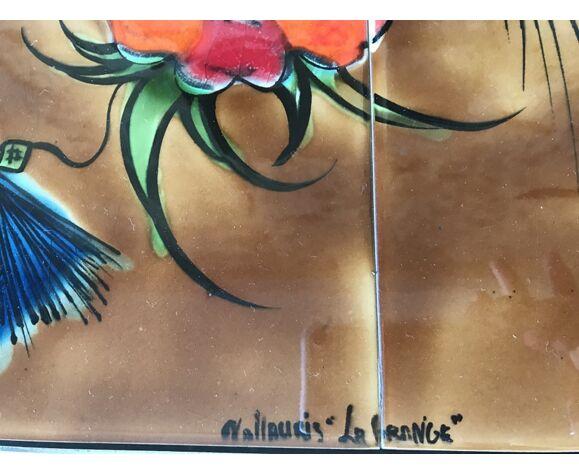 Table basse Vallauris , année 70 , signée La Grange