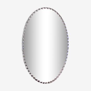 Miroir biseauté à poser 11x13cm