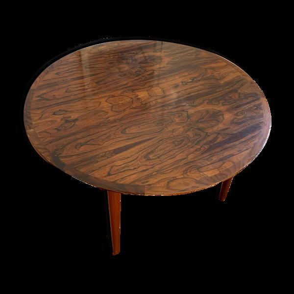 Selency Table scandinave en palissandre de rio années 1960