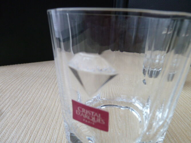 Set de 2 verres à whisky  en Cristal d'Arques