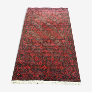 Tapis persan authentique balouche 168x84cm