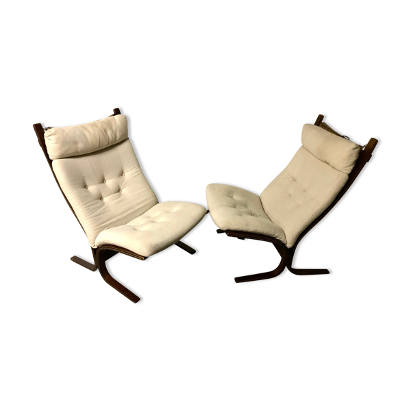 Paire de fauteuils Siesta de Ingmar Relling pour Westnofa