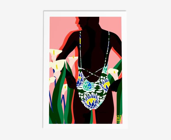 Marrakech - illustration en édition limitée, format A3 Elisa Brouet