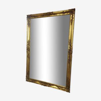 Miroir doré panoramique 115x180cm