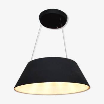 LED black aluminium ceiling light