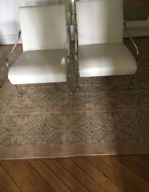 Set de 2 fauteuils en cuir blanc Felicirossi Mr Hide