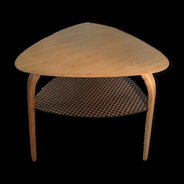 Table basse Bow wood du designer Hugues Steiner