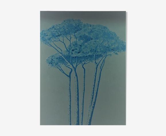 Peinture acrylique sur toile de Bertrand Cure .