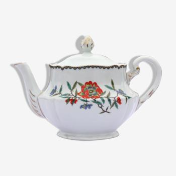 Théière porcelaine Haviland A la Grenade