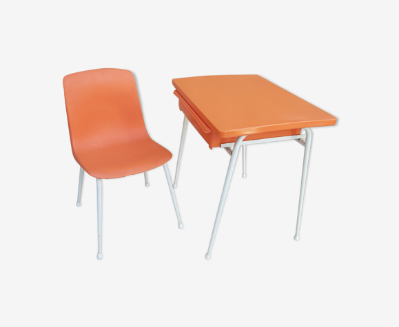 Bureau et chaise enfant Grosfillex