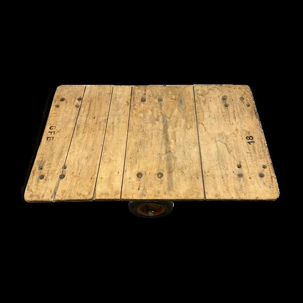 Selency Table basse indus