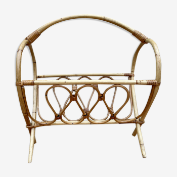 Porte revue bambou