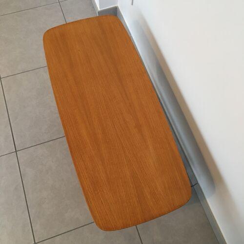 Table basse double niveau années 60
