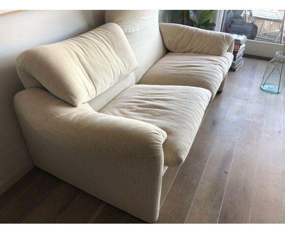 Sofa 2 places Cassina Maralunga