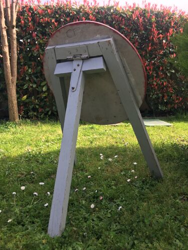 Panneau signalisation en bois