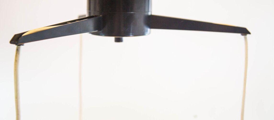 Plafonnier pendentif Philips années 50