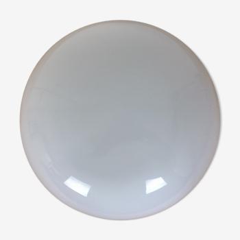 Applique boule opaline 30 cm demi sphère